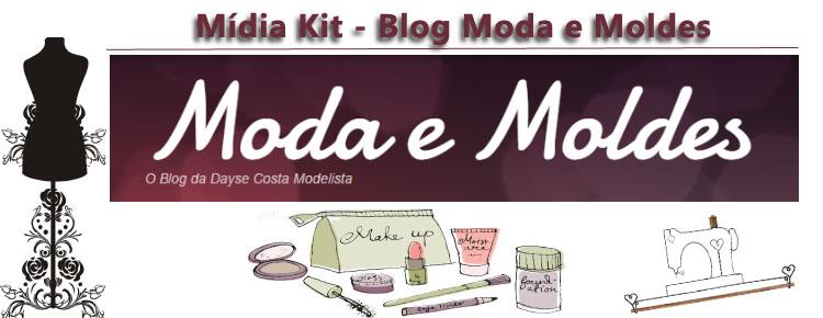 Mídia Kit Moda e Moldes em PDF