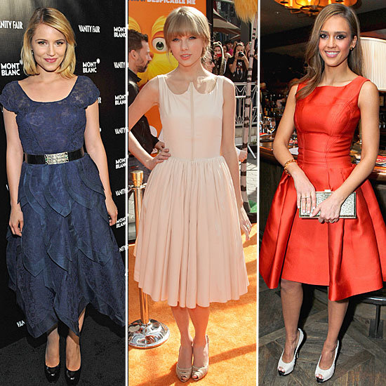 Celebrity-Trendspotting-Jessica-Alba-Taylor-Swift-Dianna-Agron-More-Don-Full-Skirted-Ladylike-Dresses
