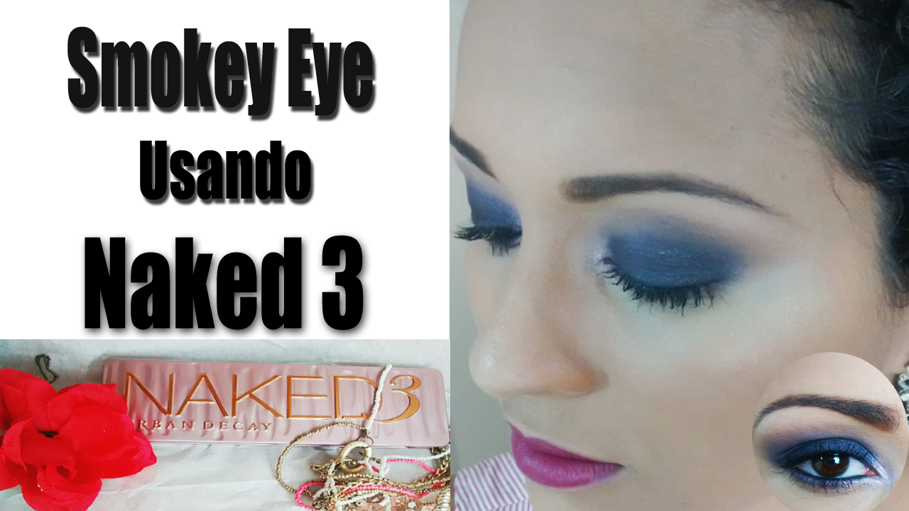 smokey eyes com naked 3 tutorial e resenha. Black Bedroom Furniture Sets. Home Design Ideas