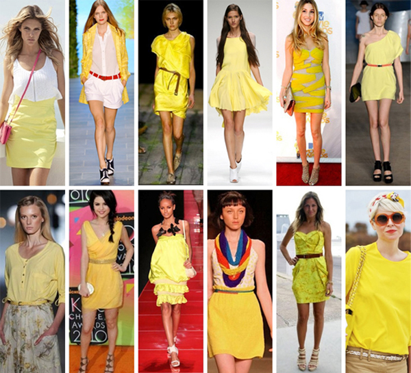 look amarelo