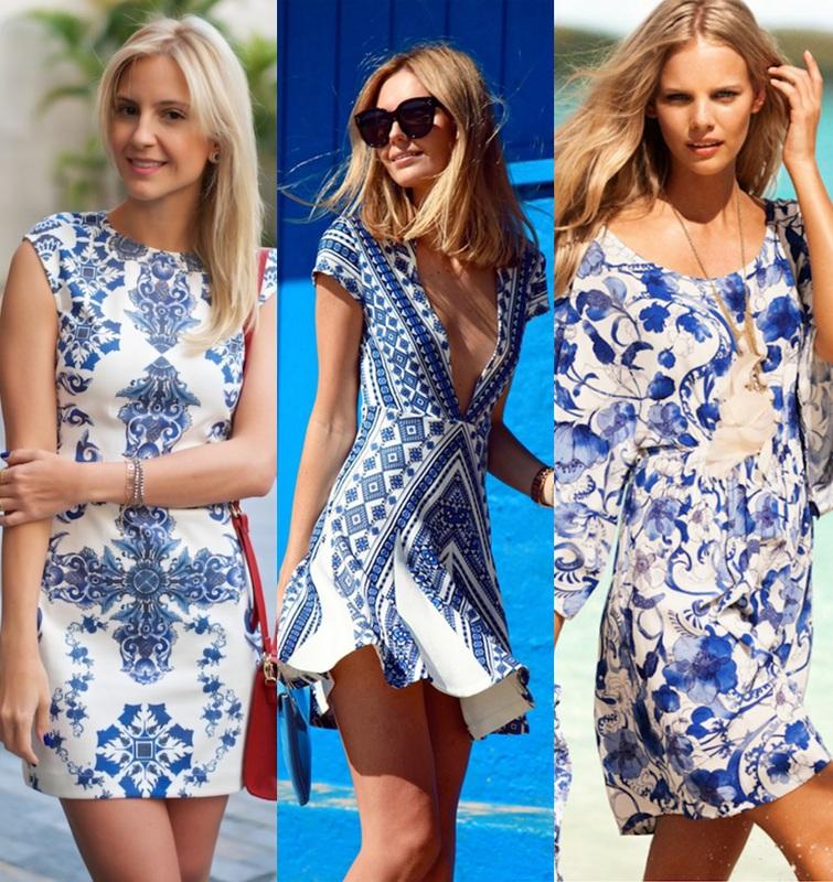vestido curto estampa azulejo 5
