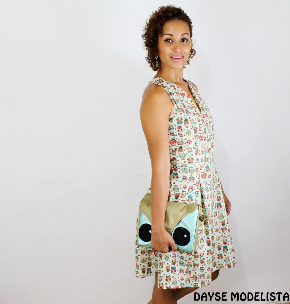 Tutorial de Costura- Vestido Corujinha Com Pregas