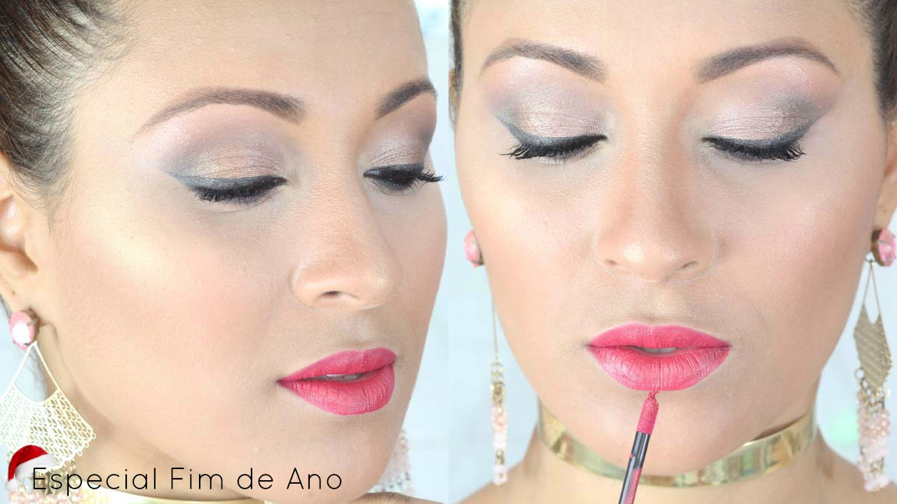 CHRISTMAS MAKEUP TUTORIAL - ESPECIAL FIM DE ANO #1
