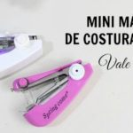 MINI MÁQUINA DE COSTURA PORTÁTIL - MINI PORTABLE SEWING MACHINE