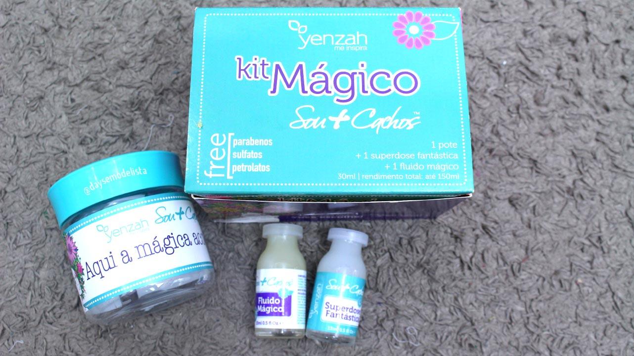 kit mágico yenzah,dayse costa,cabelo cacheado