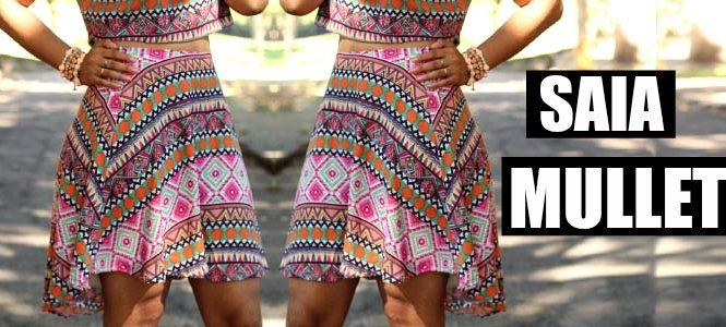 3cc10058a Neste tutorial ensino o passo a passo de como fazer modelagem e costura de  uma saia godê mullet muito fácil, e linda para você mesmo fazer!