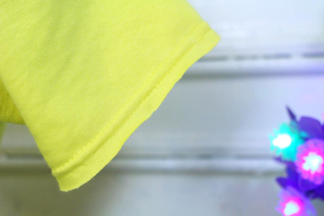 t-shirt,camisa básica,camiseta básica,patches,aplicação,dayse costa,blusa amarela