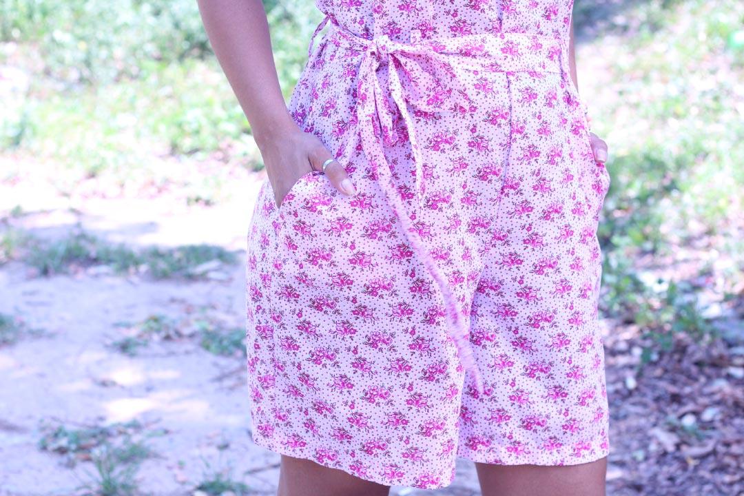 macaquinho,floral,verão,dayse costa,macaquinho com bolso