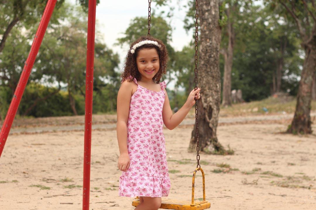 vestido infantil,vestido com babado,bestido de algodão,vestido floral,modelos de vestido infantil,moda infantil