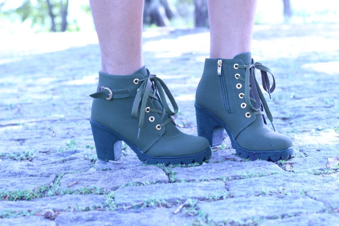 bota,coturno,cuturno,verde militar,calçados inverno,tendência de inverno para calçados,modelo de bota