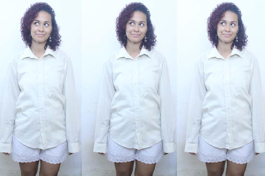 DIY, TRANSFORME CAMISA EM VESTIDO,TURNING SHIRT INTO DRESS,dayse costa,costura