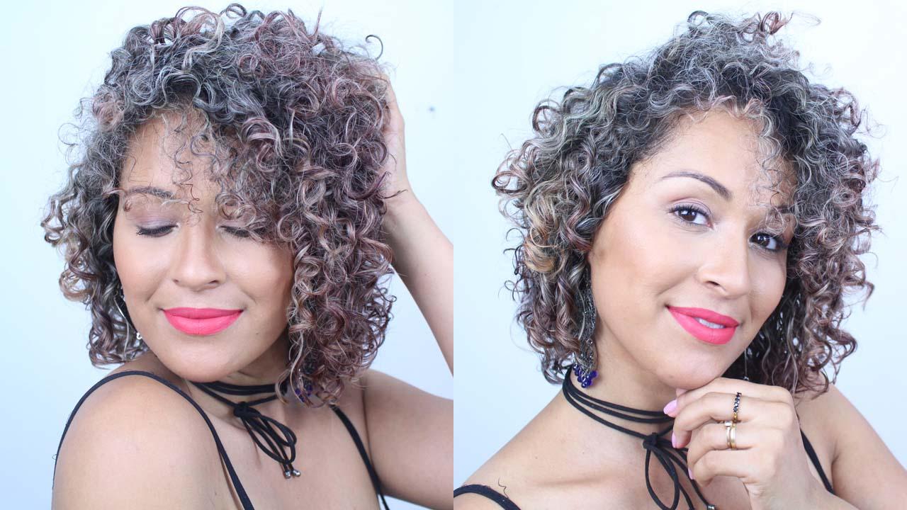 dayse costa, cabelo cacheado,cachos com luzes,como matizar o cabelo em casa,salon line,maionese capilar,maionese matizadora,curly hair,cachos loiros,cabelo descolorido