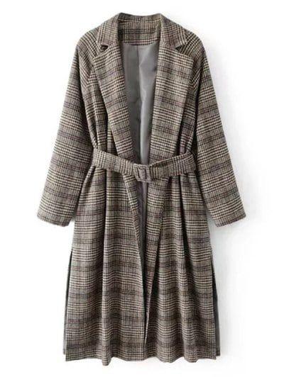 zaful,casacos,inverno,casaco xadrez,