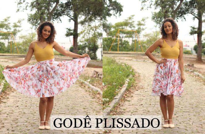 17b85daa7 COMO FAZER SAIA GODÊ PLISSADA - Moda e Moldes