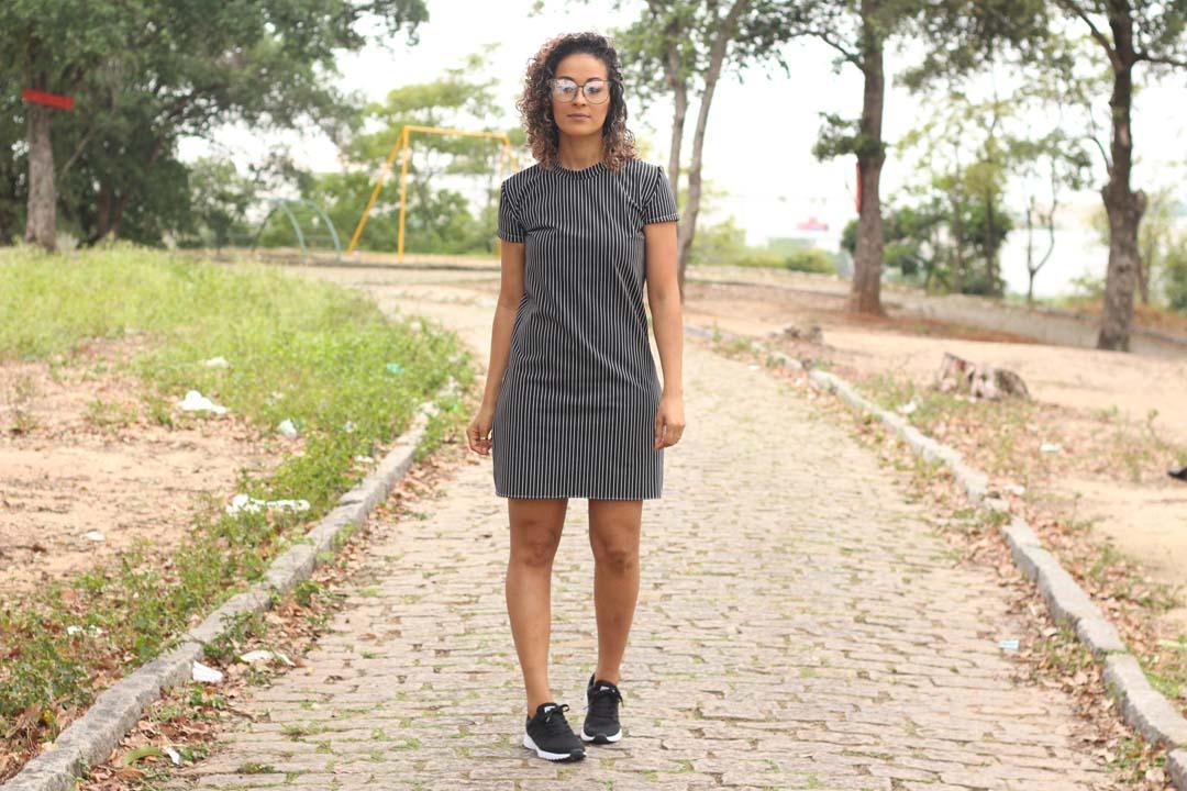 dayse costa,vestido,dress,vestido reto,vestido fácil,vestido de malha,como fazer vestido reto,molde de vestido ,modelos de vestido,manga curta,