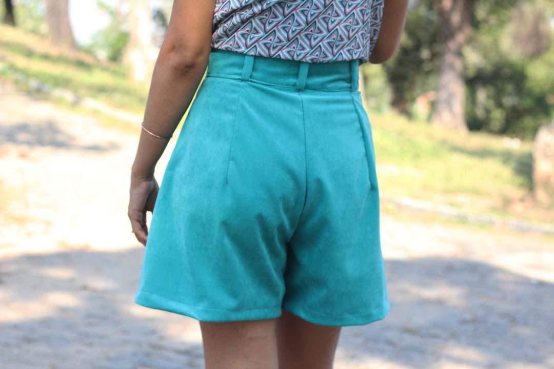 dayse costa, modelagem costura,short,alfaiataria feminina,cós anatômico,short com cósshort social