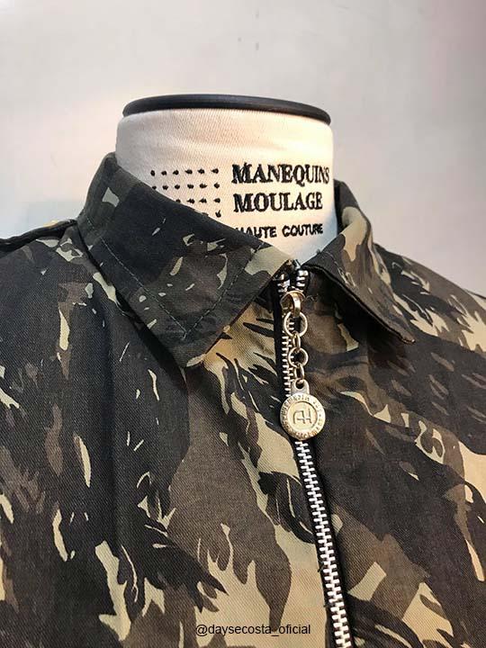 dayse costa,estilo militar,jaqueta,parca,parka,moda militar,jaqueta camuflada,inverno,look inverno,contexto histórico,moda,guerra mundial,anos 40,a moda nos anos 40, molde de jaqueta,molde de casaco,casaco,costura,diy