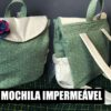 COSTURA MOCHILA DE TECIDO IMPERMEÁVEL|DIY FÁCIL